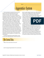 Apprentice System