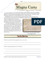 Main Idea - Magna Carta