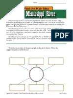 Main Idea - Mississippi Rive