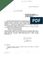 Odpowiedź na wniosek GDDKiA - Covec