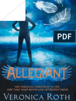 Allegiant by Veronica Roth Extract