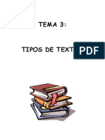 TEMA 4. Tipos de Textos.