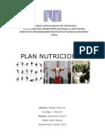 Plan Nutricional Mar