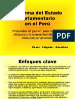 CDG - Reforma del Estado Parlamentario (2009)