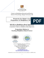 Bangor University Mindfulness Training Postgraduate Prospectus2013-14.pdf