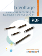 BR High Voltage Fuse Links IEC 60282 1 Product Guide En