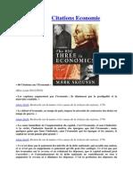 Citations Economie