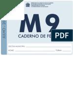 m9 Ferias Aluno 2013
