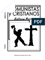 Rovirosa. Comunistas y Cristianos