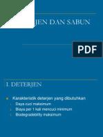Deterjen Dan Sabun