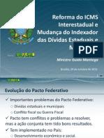 Reforma No ICMS MantegaSenado 241013