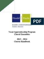 choral handbook fy14