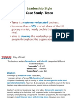 Leadership Style in Tesco.pptx