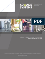 Advance Systems Access Control Solutions Brochure