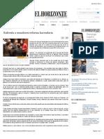Enfrenta a Senadores Reforma Hacendaria