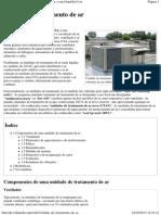 Unidade de tratamento de ar – Wikipédia, a enciclopédia livre