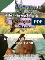 Biblia Viva Tiago 4
