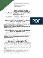 20120103 Template Penulisan Paper Prosiding