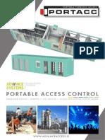 Portable Access Control & Turnstiles Brochure