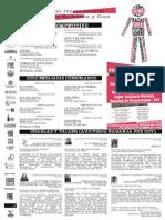 Programación 1er Festival de Cine y Derechos Humanos - Caracas 2013