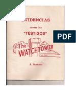 Evidencias Testigos de Jehova Pr. Romero