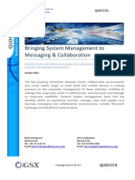 Bringing System Management to Messaging & Collaboration