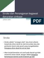 Stroke dan Penanganan kegawat daruratan syncope.ppt
