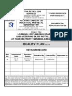 Quality Plan TPS 53-2013