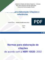 Metodloga Cita__es e Referencias Comunica__o Social