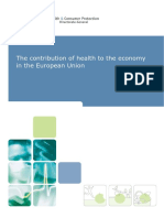 The contribution of health to the economy