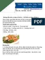 Hướng dẫn nấu cá chim sốt hải vị