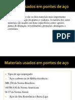 Materiais usado em pontes de aço