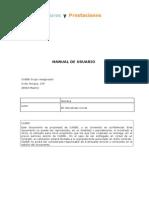 Manual de Usuario Sistema Seguros y Prestaciones