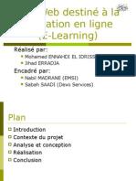 Présentation PFE E Learning