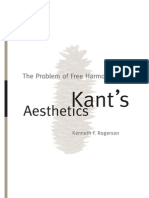 The Problem of Free Harmony in Kant's Aesthetics (SUNY 2008) - Kenneth F. Rogerson