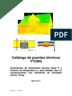 Catalogo Puentes Termicos v1