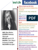 William Wilberforce's life