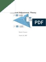 Advanced Adjustment Theory