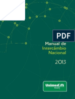 Manual de Intercâmbio Nacional 2013