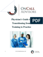 Physician's Guide to Transitioning from Training to Practice
