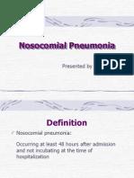 Nosocomial pneumonia.ppt