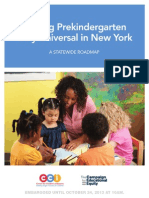 A new plan for universal pre-kindergarten