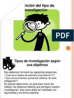 tipos de investigacion.ppt