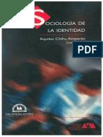 Sociologia de la identidad Introduccion Chiu Amparán