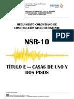 Titulo E NSR 10