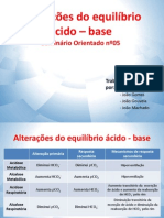 Alteracao Equilibrio Acido Base