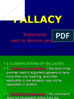 Fallacies to Avoid in Writing
