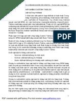 Hoang Trong - Su Dung Custom Tables - Pdfpro