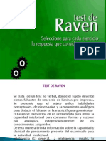 Teoria Test Raven Escalas Progresivas