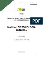 Manual de Psicología General